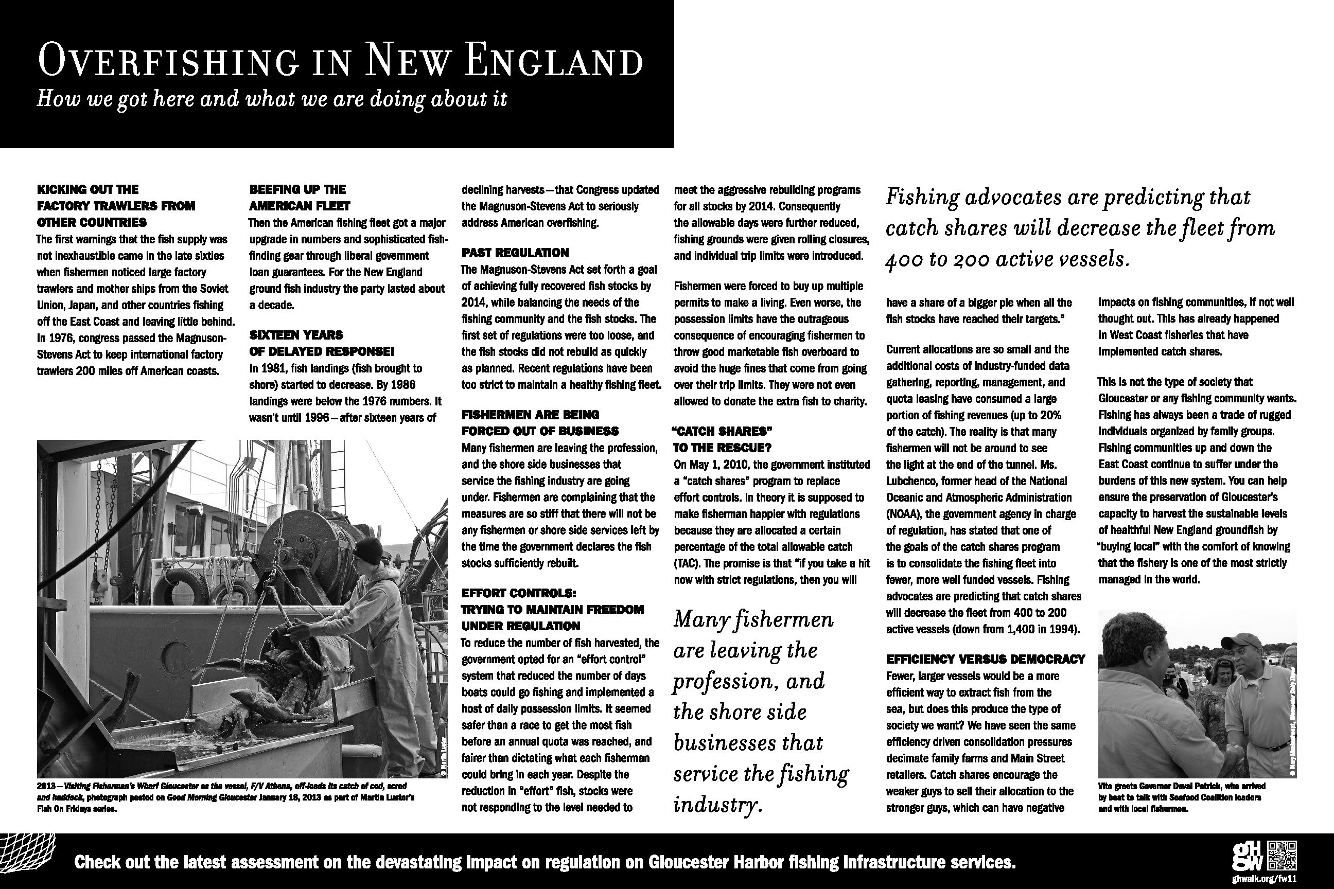 OVERFISHING IN NEW ENGLAND