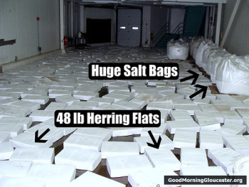 herring salt bags and flats